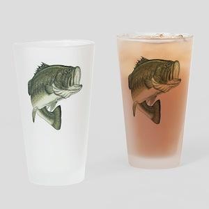 Large Mouth Bass Pint Glass