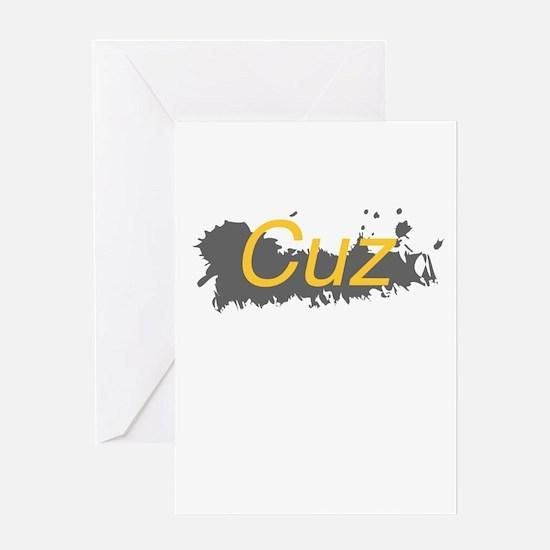 Cuz Greeting Card