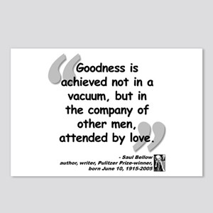 Bellow Goodness Quote Postcards (Package of 8)