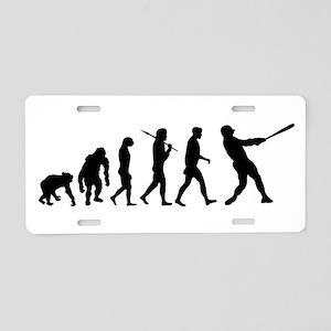 Evolution of Baseball Aluminum License Plate