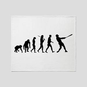 Evolution of Baseball Throw Blanket