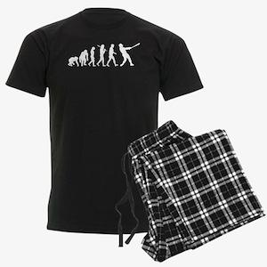 Evolution of Baseball Men's Dark Pajamas
