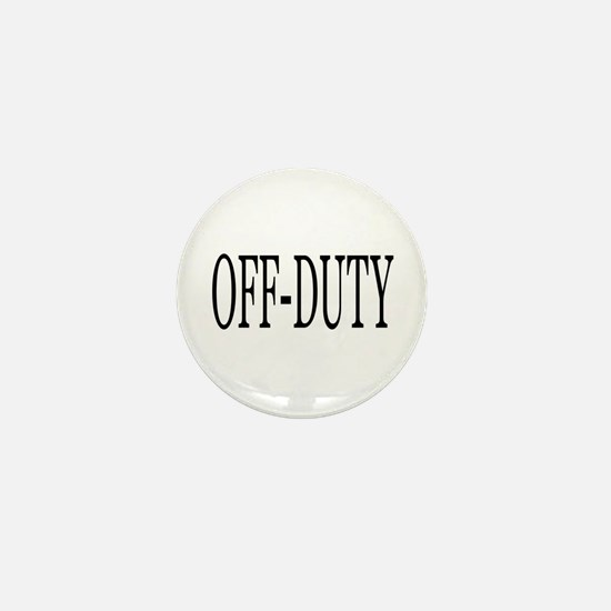 Off-Duty Mini Button