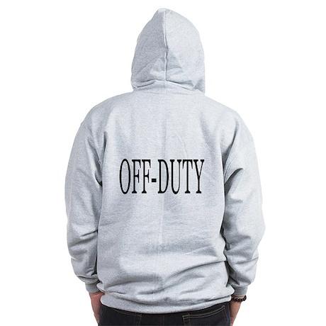 Off-Duty Zip Hoodie