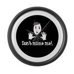 Don't Mime Me! Large Wall Clock