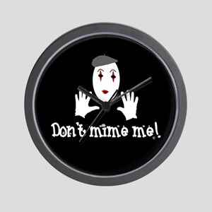 Don't Mime Me! Wall Clock