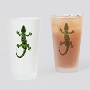 Gecko Drinking Glass