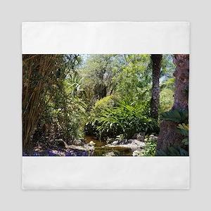 Jungle Pond Queen Duvet