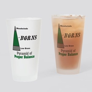 Proper Balance Drinking Glass