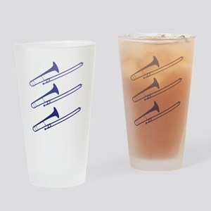 Blue Trombones Pint Glass