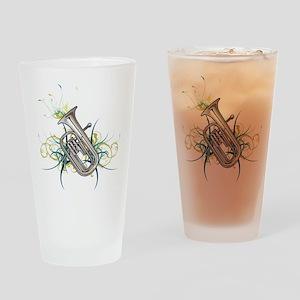 Confetti Baritone Pint Glass