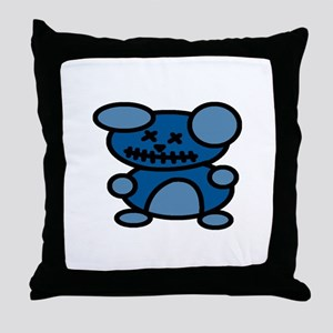 Zombie Bear Throw Pillow
