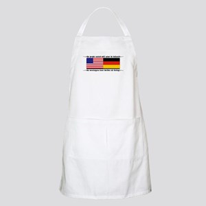 USA - Germany BBQ Apron