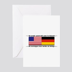 USA - Germany Greeting Cards (Pk of 10)