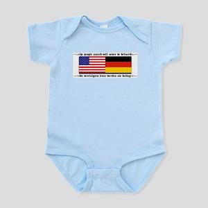 USA - Germany Infant Creeper