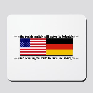 USA - Germany Mousepad