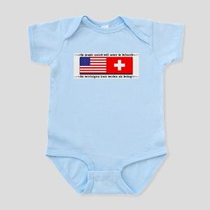 USA - Switzerland Infant Creeper