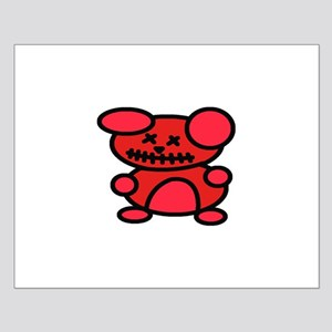 VooDoo Teddy Small Poster