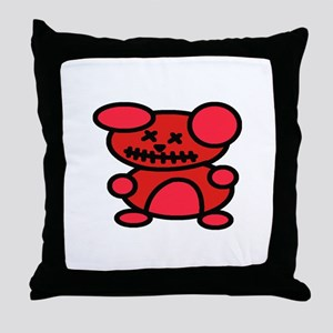 VooDoo Teddy Throw Pillow