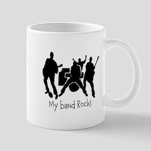 My band rocks Mug