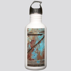 distressed turquoise b Stainless Water Bottle 1.0L