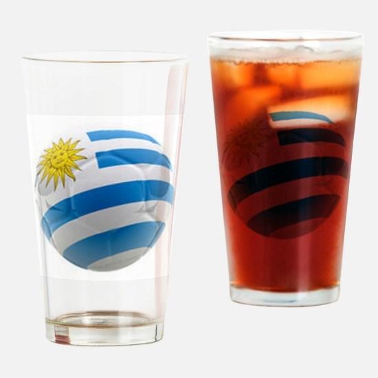 Uruguay World Cup Ball Pint Glass