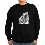 Polar Bear Black Sweatshirt (dark)