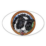 Mac's Window Oval Sticker