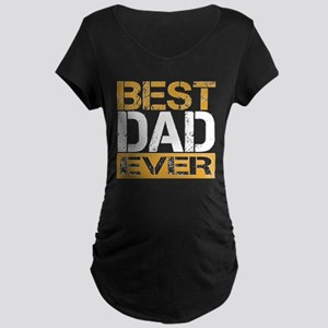 Best Dad Maternity Dark T-Shirt