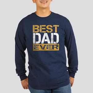 Best Dad Long Sleeve Dark T-Shirt