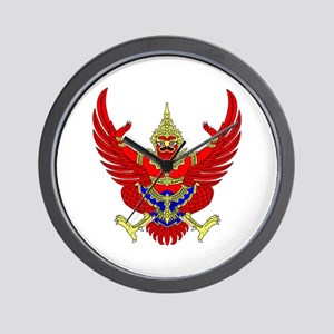 Thai Garuda Symbol Wall Clock