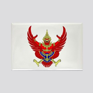 Thai Garuda Symbol Rectangle Magnet