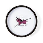 Piggy Range - Wall Clock