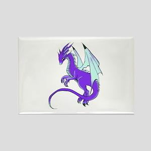 Dragon Rectangle Magnet