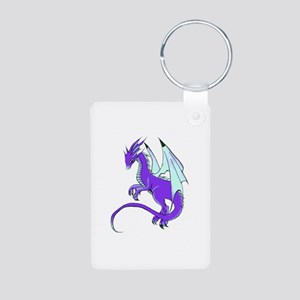 Dragon Aluminum Photo Keychain