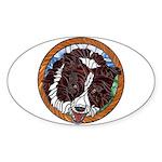 Mac's Redhead Window Oval Sticker