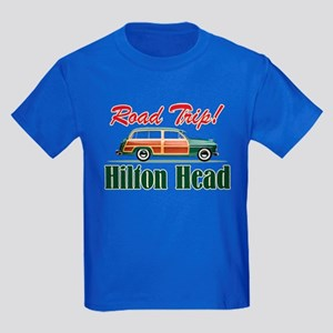 Hilton Head Road Trip - Kids Dark T-Shirt