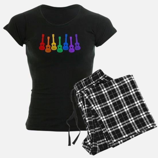 Ukulele Rainbow - Black/Dark Pajamas