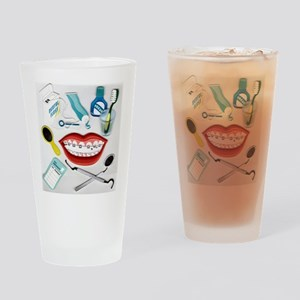 Dentist Jelly Beans Pint Glass