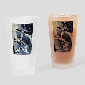 International Space Station Pint Glass