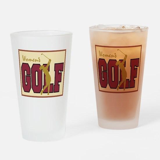 Women's Golf Pint Glass