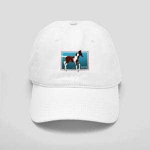 Saddlebred Pinto Colt Painting Cap