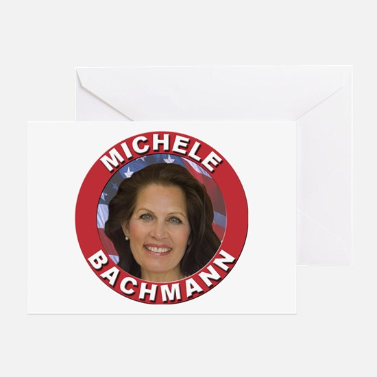 Michele Bachmann Greeting Card