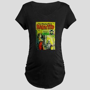 Haunted Maternity Dark T-Shirt