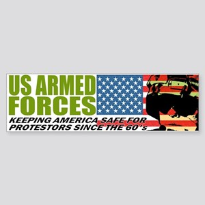 U.S. Armed Forces Bumper Sticker