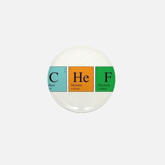 Chemist Chef Mini Button