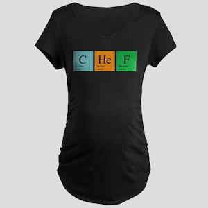 Chemist Chef Maternity Dark T-Shirt