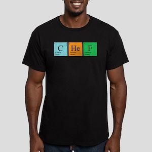 Chemist Chef Men's Fitted T-Shirt (dark)