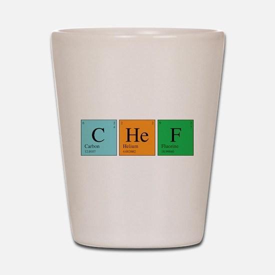 Chemist Chef Shot Glass