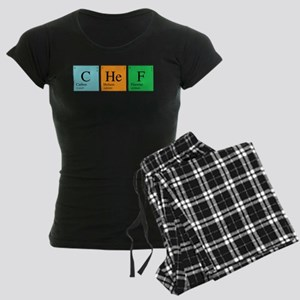 Chemist Chef Women's Dark Pajamas